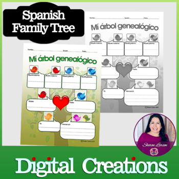 Mi árbol Genealógico By Sharon Larson Teachers Pay Teachers