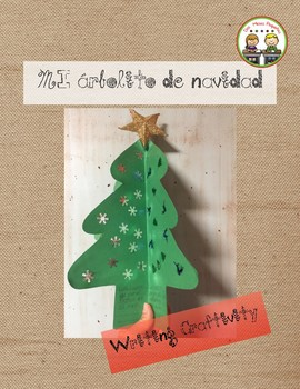 Mi arbolito de navidad ~ My Christmas Tree Writing Craftivity