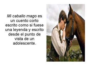 Mi caballo mago por Sabine Ulibarrí