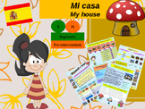 Spanish house, mi casa PPT for beginners