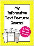 Mi cuaderno de textos informativos - Informative text feat