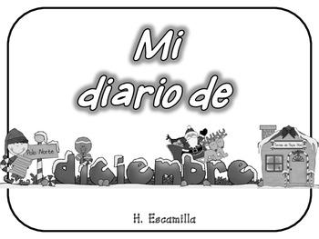 Mi diario de diciembre - My December Journal * Both Spanish & English