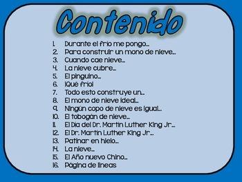 Mi diario de enero- My January Journal * Both Spanish & English