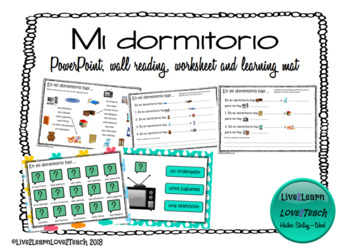 Mi dormitorio (introductory lesson)