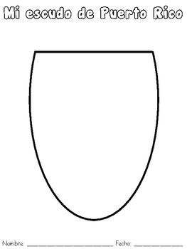 Mi escudo de Puerto Rico