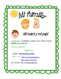 Mi familia--Spanish Vocabulary