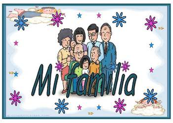 Mi familia.-vocabulary for beginners
