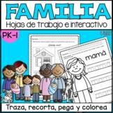 Mi familia_My Family in SPANISH