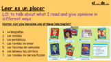 Mi gente - Leer es un placer - Viva edexcel foundation