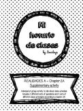 Mi horario de clases ~ Class Schedule REALIDADES A supplem