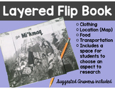 Mi'kmaq Research Writing Flip Book: First Nations