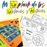 Mi lapbook de los Lantánidos y Actínidos