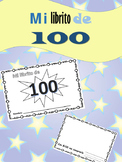 Mi librito de 100 / 100 day of school SPANISH