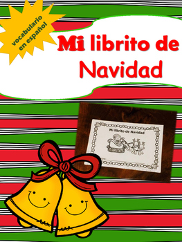 READING: Mi librito de Navidad / Mini Christmas book in Spanish