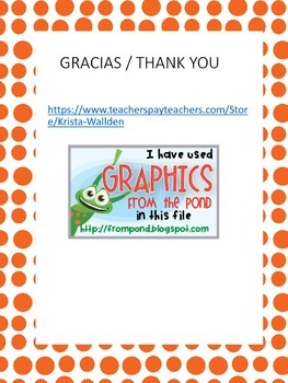 Mi librito de accion de gracias / My Thanksgiving book in Spanish