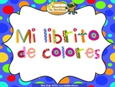 Mi librito de colores– a bilingual book, colors, rhyming