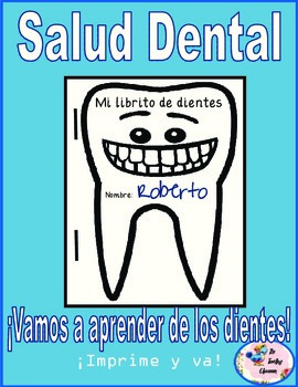 Mi librito de dientes (A Dental Health Print & Go Mini - book) **Spanish**