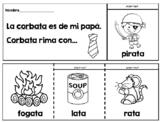 Mi librito de las rimas - Spanish Rhymes Flip Books