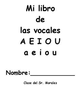 Mi librito de las vocales
