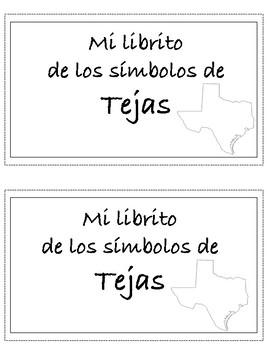Mi librito de los simbolos de Tejas/My little book of Texa