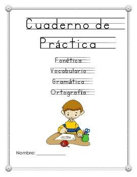 Mi librito de practica de fonetica y silabas de segundo grado
