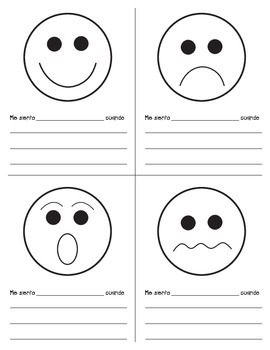 Mi librito de sentimientos/My Feelings Booklet