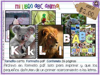 Mi libro ABC animal