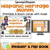 Mi libro de Hispanos importantes Readers {Hispanic Heritage} & Flip book