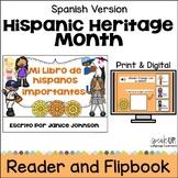 El Mes de la Herencia Hispana Readers & Flip book & Boom A