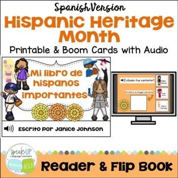 Mi libro de Hispanos importantes Readers {Hispanic Heritag
