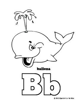 Spanish Fun for Kids Mi libro de Alfabeto para Colorear (alphabet coloring book)