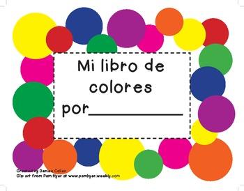Mi libro de colores/My Colors Book