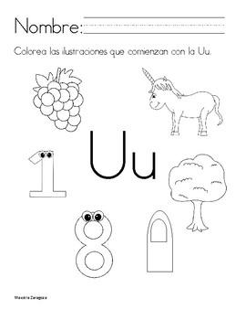 Mi libro de la Uu