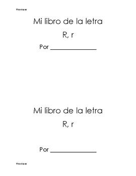 Mi libro de la letra R