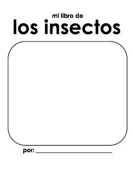 Mi libro de los insectos / Insect Study (SPANISH)