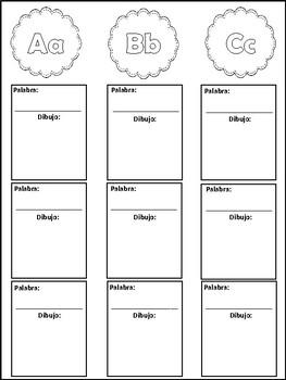 Mi libro de vocabulario / My Vocabulary Book