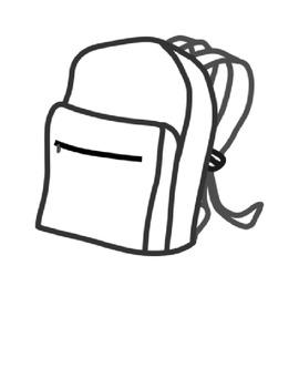 Mi mochila tiene Spanish school supply speaking activity