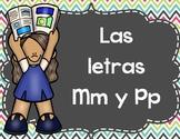 Actividades Con Las Letras M y P - Spanish Activities Letters M & P