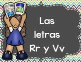 Las letras  R, RR y V- Activitivades
