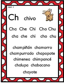 Mi mundo de las consonantes letras Ch y D- Actividades