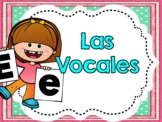 Actividades Con Las Vocales -  Spanish Activities With the Vowels