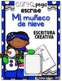 Mi muñeco de nieve - Proyecto de escritura creativa