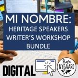Mi nombre: a Writer's Workshop for Heritage Speakers Bundle