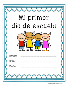 Mi primer dia de escuela (Spanish packet) (My First Day of