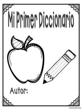 Mi primer diccionario. Centro de escritura en español.