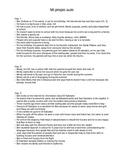 Mi propio chater summaries in English