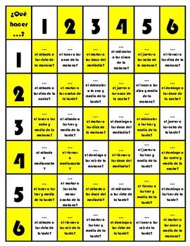 Mi rutina diaria - Board Game Bundle
