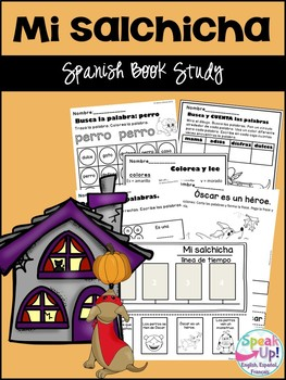 Mi salchicha Book Study {The Hallo-weiner} ~ Simplified for Language Learners