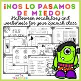Mi vocabulario de Halloween - Halloween Spanish Vocabulary