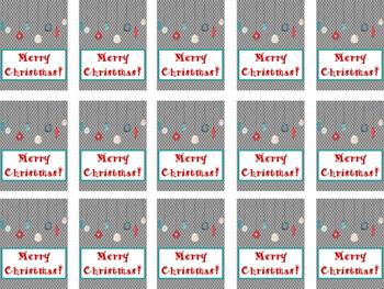 MiMi Sue's Brag Tags FREEBIE (Can't Wait Until Christmas!) Holiday SWAG